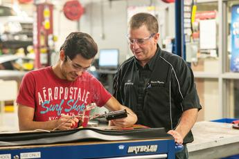 David Myers, automotive systems technology program coordinator and instructor at SCC, said vocational education at the high school level is extremely efficient for many students.