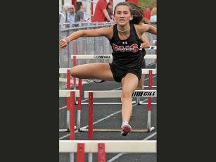 Press file photo - Hannah Angel is highly motivated to earn a college scholarship.