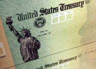 Press graphic - Federal stimulus relief checks are coming soon.