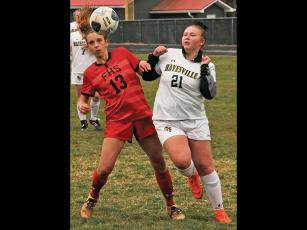 Press photo/Andy Scheidler - Franklin junior Ally Roots was a returning all-conference player for Franklin's soccer team. The Panthers were 3-0 before the season was halted.