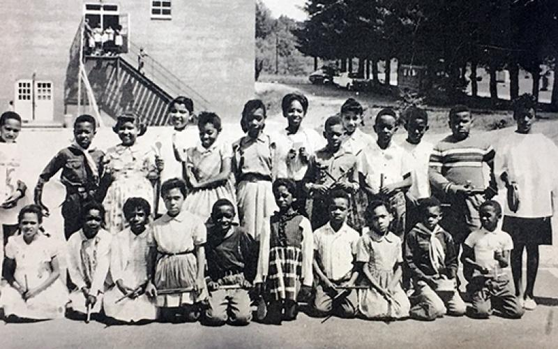 Photo submitted - The Chapel School served Franklin's African-American community before integration.